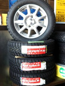 タイヤ販売例