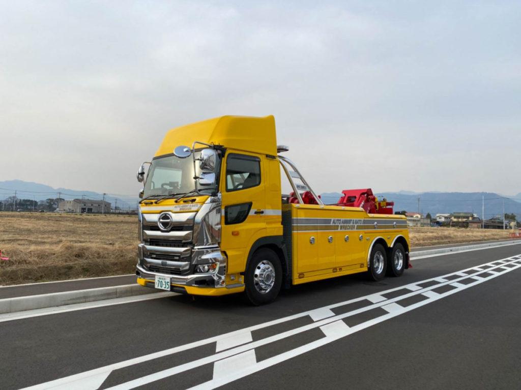 大型レッカー7035